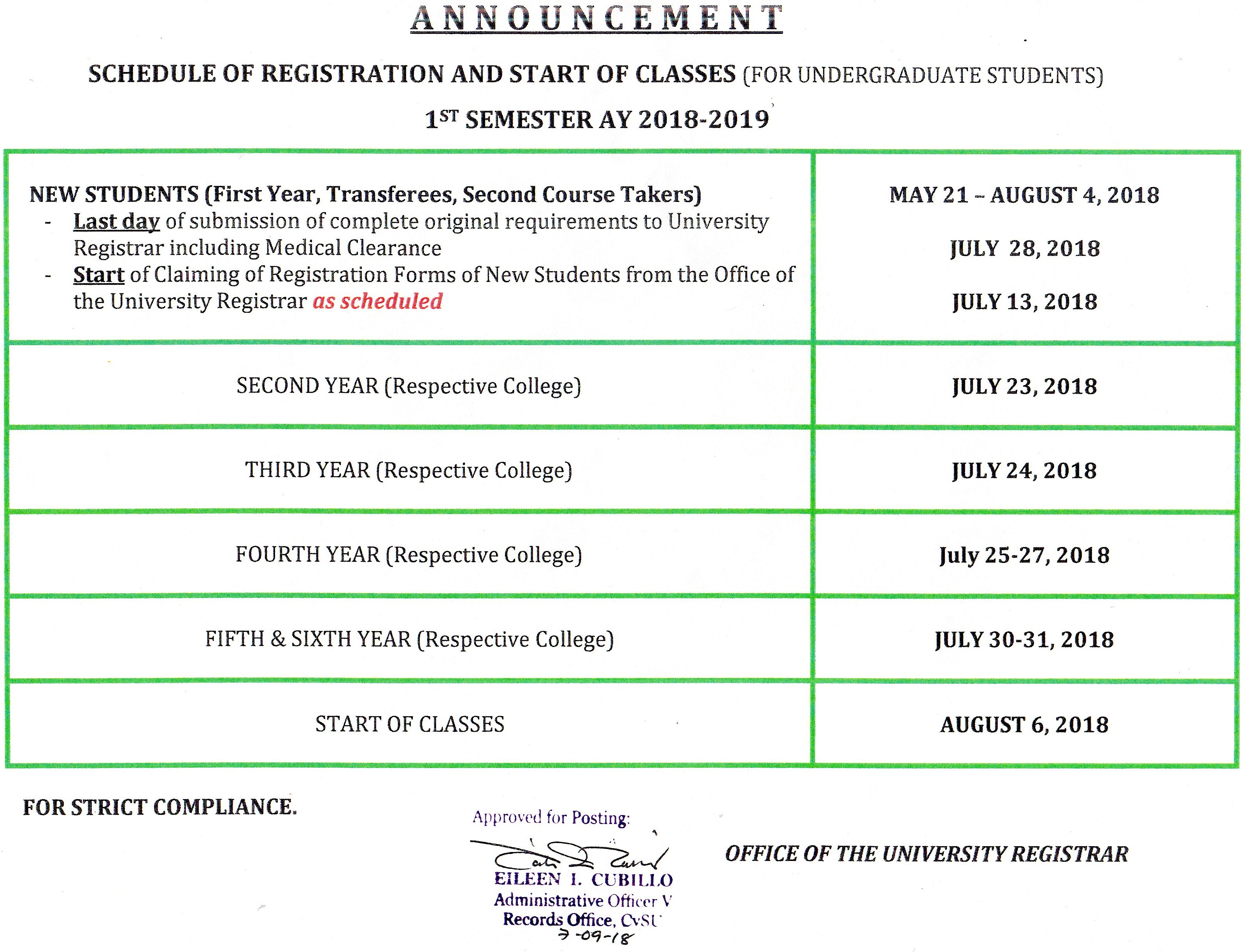 cavite state university imus courses offered